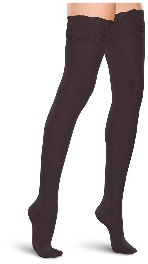 Therafirm Therafirm Women's 15-20 mmHg Thigh High Lace Top - TF684 - ScrubHaven