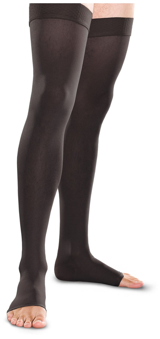 Therafirm Therafirm Unisex 20-30 mmHg Thigh High Open Toe - TF741 - ScrubHaven
