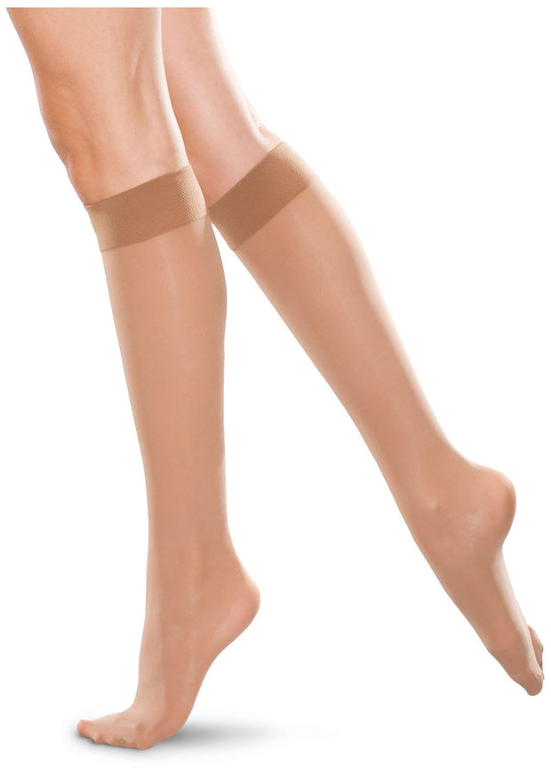 Therafirm Therafirm Unisex 30-40 mmHg Knee-High Closed Toe - TF766 - ScrubHaven