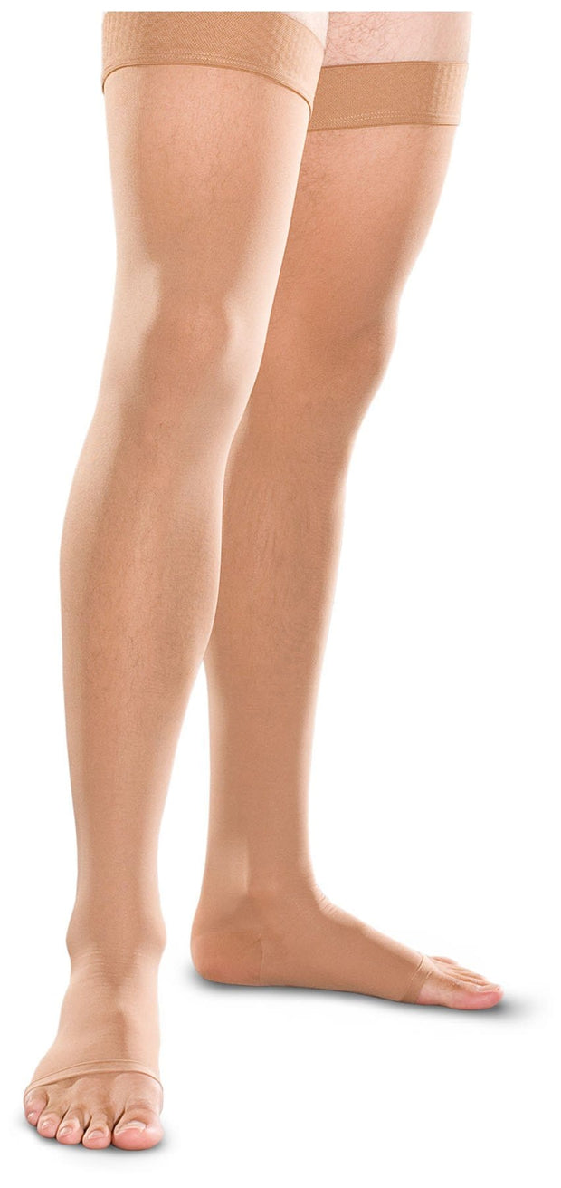30-40 mmHg Thigh High Open Toe