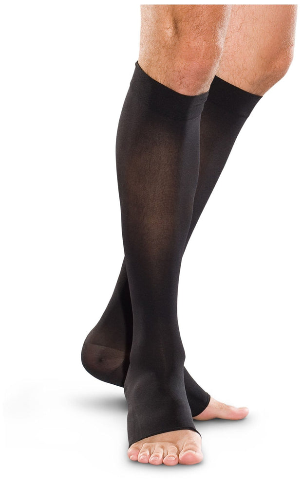 TF773 20-30 mmHg Knee-High Open Toe