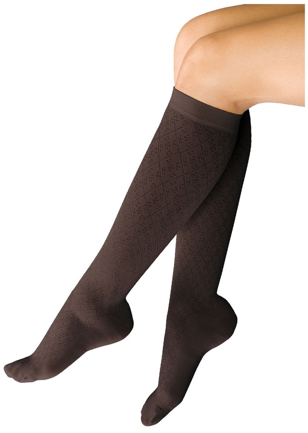 Therafirm Therafirm Women's 10-15 mmHg Support Trouser Sock - TF953 - ScrubHaven