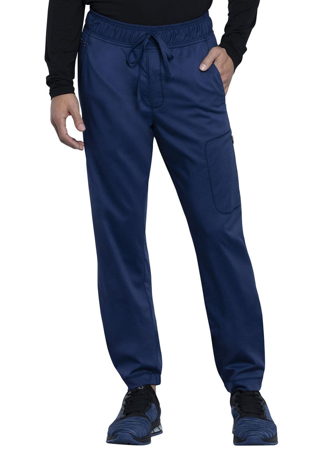Cherokee Workwear WW Revolution Men's Men's Men's Natural Rise Jogger - WW012S  Short - ScrubHaven