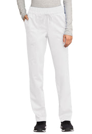 Cherokee Workwear WW Revolution Women's Mid Rise Tapered Leg Drawstring Pant - WW105
