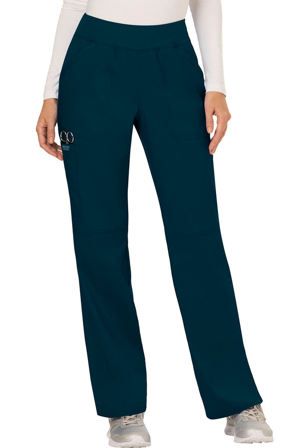 WW110P<br> Mid Rise Straight Leg Pull-on Pant (Petite)
