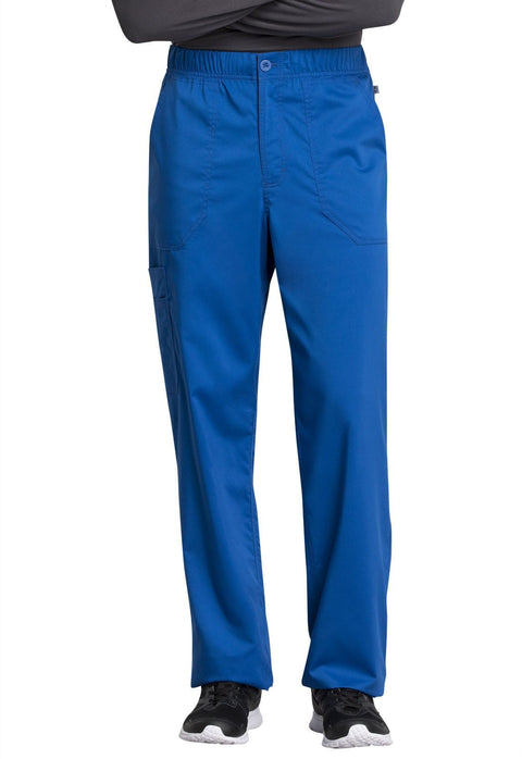 Cherokee Workwear WW Revolution Tech Mens Men's Men's Mid Rise Straight Leg Zip Fly Pant - WW250ABS  Short - ScrubHaven
