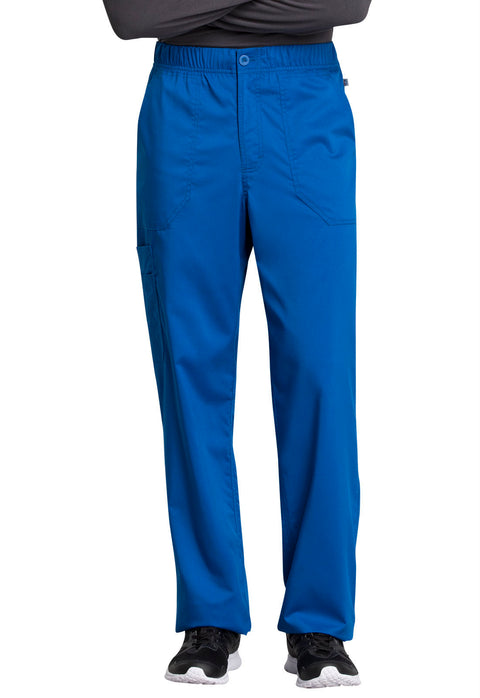 Cherokee Workwear WW Revolution Tech Men's Mid Rise Straight Leg Zip Fly Pant - WW250ABS  Short