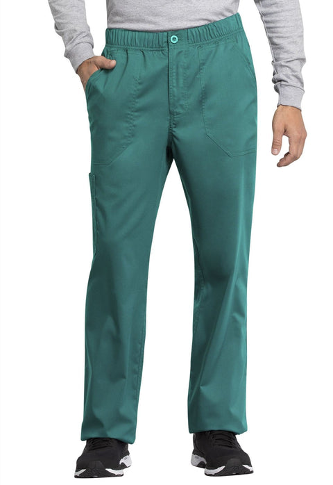 Cherokee Workwear WW Revolution Tech Mens Men's Men's Mid Rise Straight Leg Zip Fly Pant - WW250AB - ScrubHaven