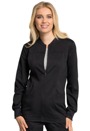 Cherokee Workwear WW Revolution Tech Women's Zip Front Jacket - WW305AB