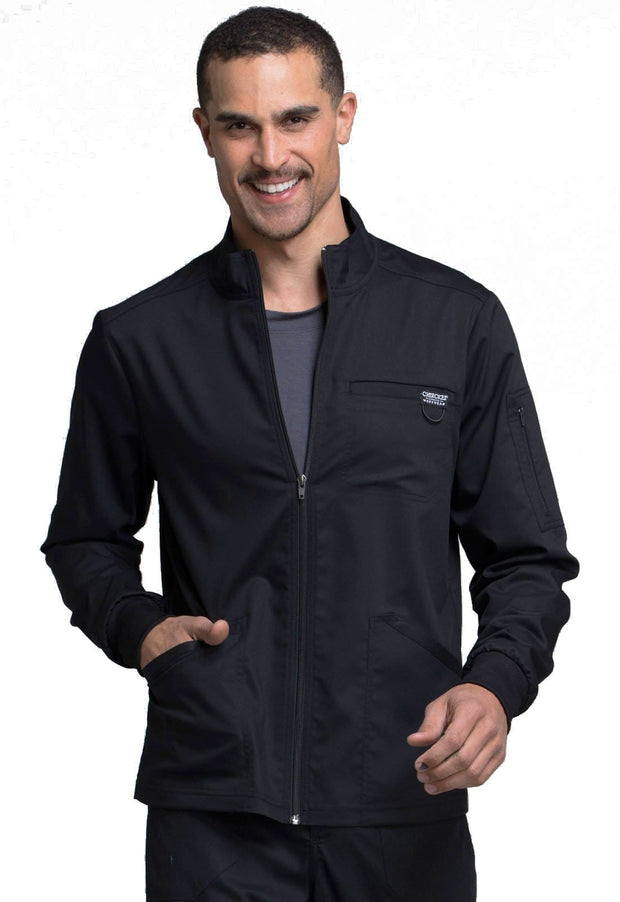 Cherokee Workwear WW Revolution Men's Men's Men's Zip Front Jacket - WW320 - ScrubHaven
