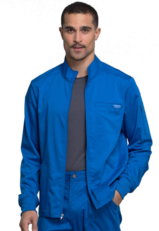 Cherokee Workwear WW Revolution Men's Zip Front Jacket - WW320