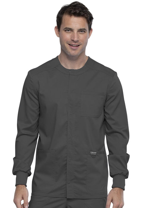 Cherokee Workwear WW Revolution Men's Men's Men's Snap Front Jacket - WW380 - ScrubHaven