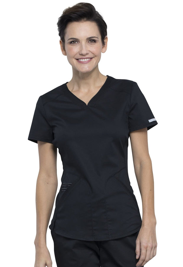 Cherokee Workwear WW Revolution Women's V-Neck Top - WW601 - ScrubHaven