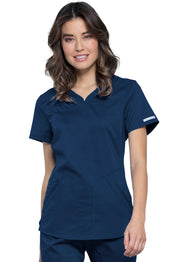 Cherokee Workwear WW Revolution Women's V-Neck Top - WW601