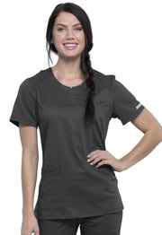 Cherokee Workwear WW Revolution Women's Round Neck Top - WW602 - ScrubHaven