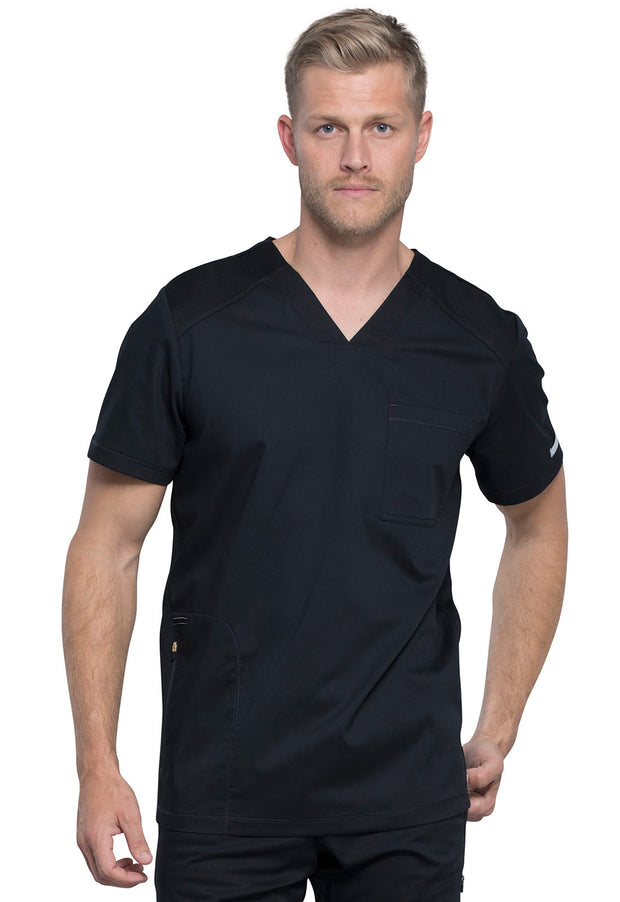 Cherokee Workwear WW Revolution Men's V-Neck Top - WW603