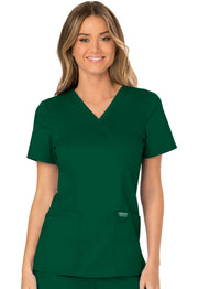 Cherokee Workwear WW Revolution Women's Mock Wrap Top - WW610