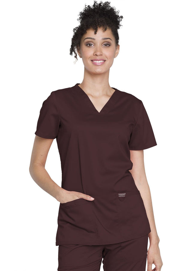 Cherokee Workwear WW Revolution Women's V-Neck Top - WW620 - ScrubHaven