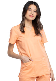 Cherokee Revolution Scrub Top | Women's V-Neck Top - WW620