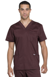 Cherokee Workwear WW Revolution Men's Men's Men's V-Neck Top - WW670 - ScrubHaven