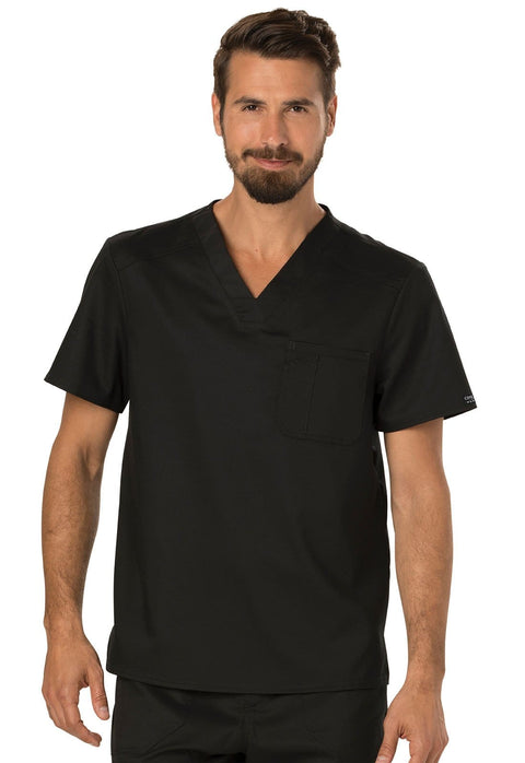 Cherokee Workwear WW Revolution Men's Men's Men's V-Neck Top - WW690 - ScrubHaven