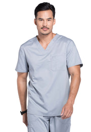 Cherokee Workwear WW Revolution Men's V-Neck Top - WW690