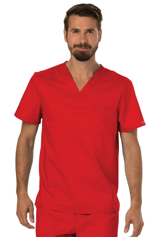 WW690<br> Men's V-Neck Top