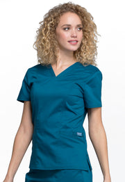 Cherokee Workwear WW Revolution Women's V-Neck Top - WW710