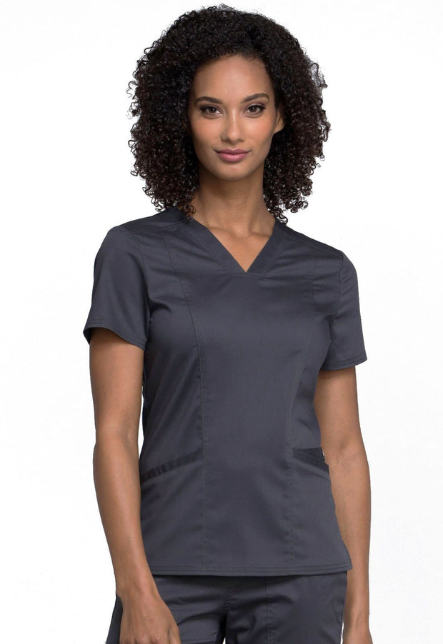 Cherokee Workwear WW Revolution Women's V-Neck Top - WW710 - ScrubHaven