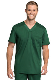 Cherokee Workwear WW Revolution Tech Men's V-Neck Top - WW755AB