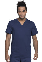 Cherokee Workwear WW Revolution Tech Mens Men's Men's V-Neck Top - WW760AB - ScrubHaven