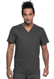 Cherokee Workwear WW Revolution Tech Men's V-Neck Top - WW760AB