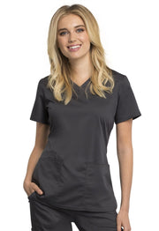 Cherokee Workwear WW Revolution Tech Women's V-Neck Top - WW770AB - ScrubHaven