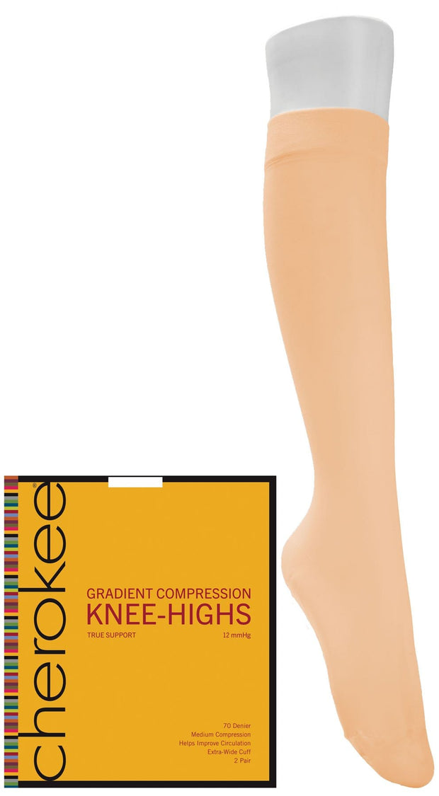 1- 2 Pair Packs of Knee Highs