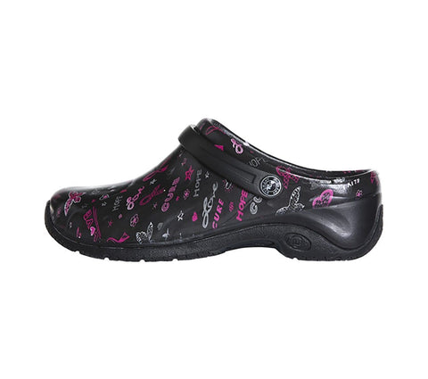 Anywear Zone Women's Injected Clog with Backstrap - ZONE - ScrubHaven