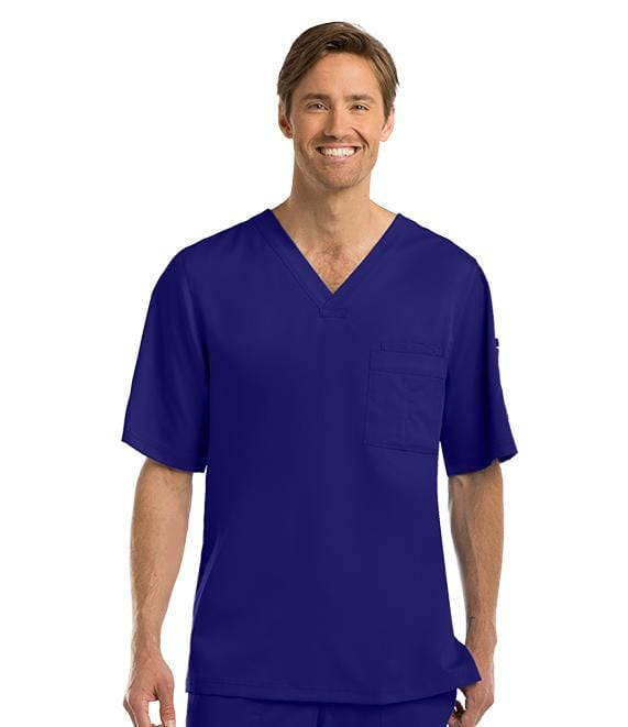 Greys Anatomy Men's 3 Pocket Top - 0103 - ScrubHaven
