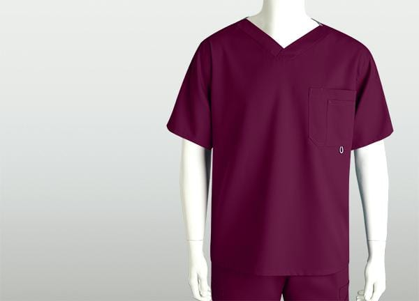 Greys Anatomy Men's 3 Pocket High Open V-Neck - 0107 - ScrubHaven
