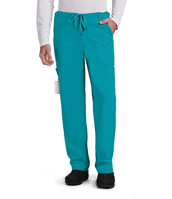 Greys Anatomy Men's Men's 6 Pocket Utility Pant - 0203 - ScrubHaven