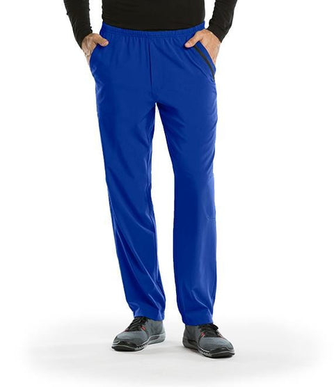 Barco One Men's 7 Pocket Cargo Elastic Pant - 0217X - ScrubHaven