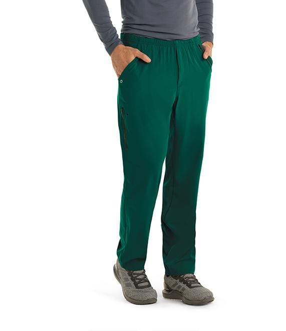 Barco One Men's 7 Pocket Cargo Elastic Pant - 0217 - ScrubHaven