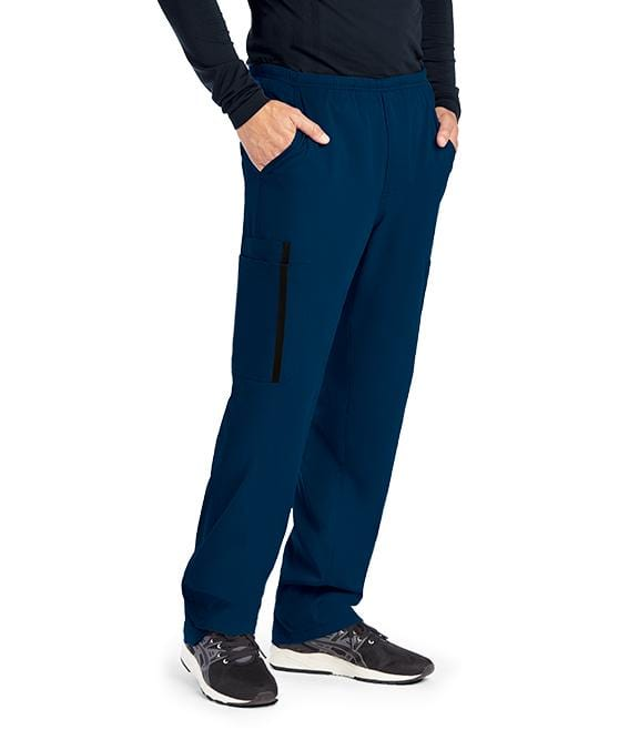 Greys Anatomy Impact Men's 6 Pocket Double Cargo Pant - 0219 - ScrubHaven