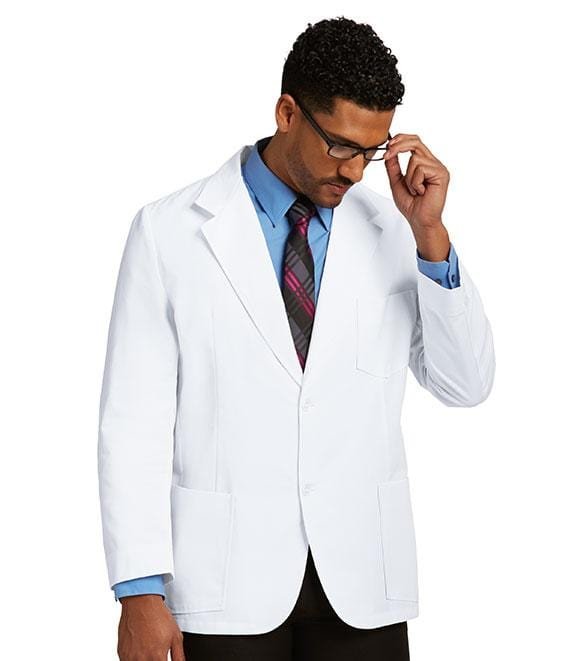 Labcoats by Barco Men's 30 In 3 Mitre Pocket Mr Barco - 0619L - ScrubHaven