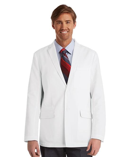 "Greys Anatomy Men's 4 Pocket 30"" Back Vent Lab Coat - 0916 - ScrubHaven"