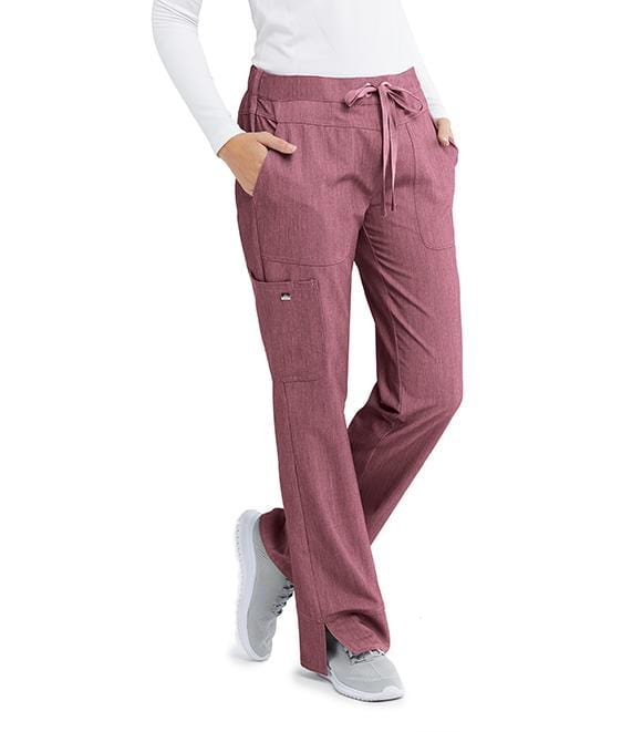 Greys Anatomy Signature Women's 3 Pocket Cargo Low Rise Straight Leg - 2207X - ScrubHaven