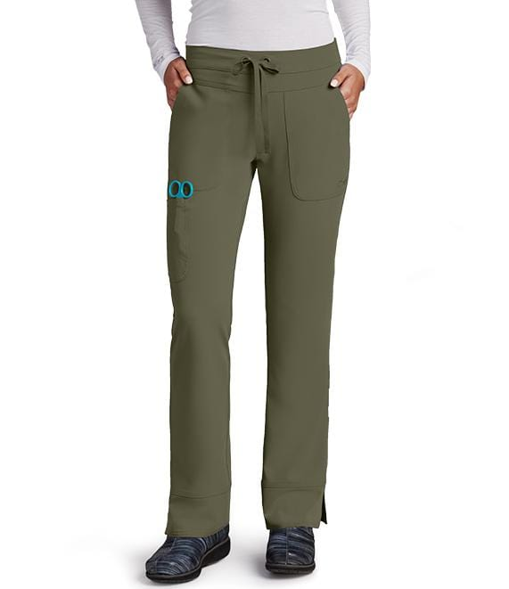 Greys Anatomy Signature Women's 3 Pocket Cargo Low Rise Straight Leg - 2207 P Petite - ScrubHaven