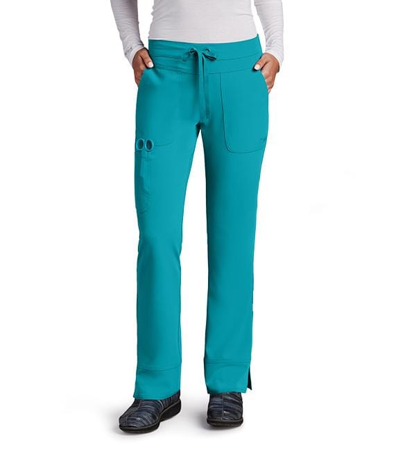 Greys Anatomy Signature Women's 3 Pocket Cargo Low Rise Straight Leg - 2207T Tall - ScrubHaven