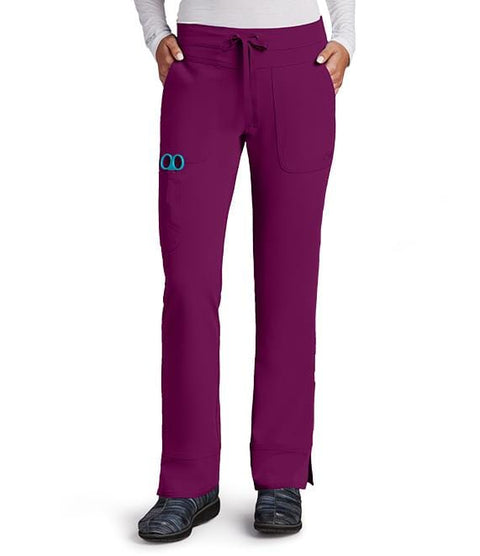 Greys Anatomy Signature Women's 3 Pocket Cargo Low Rise Straight Leg - 2207 - ScrubHaven