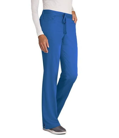 Greys Anatomy Women's 5 Pocket Drawstring Pant - 4232T Tall - ScrubHaven