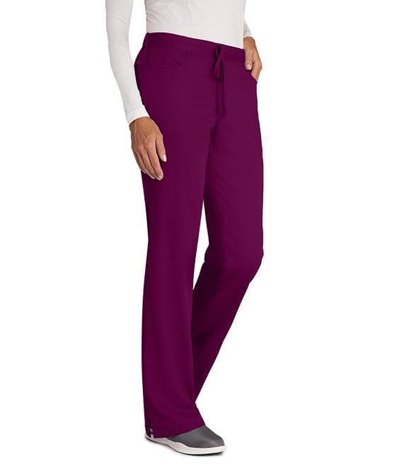 Greys Anatomy Women's 5 Pocket Drawstring Pant - 4232P Petite - ScrubHaven