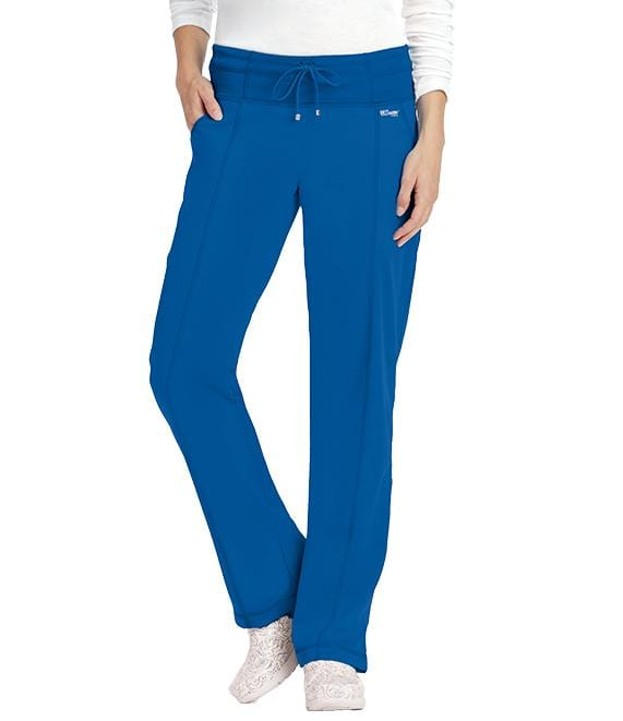 Greys Anatomy Active Women's 4 Pocket Low Rise Wide Waist Pant - 4276 - ScrubHaven